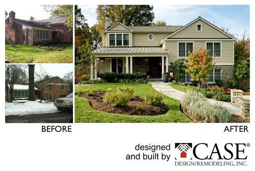 Astounding Home Exterior Makeovers Before After Of Case Projects