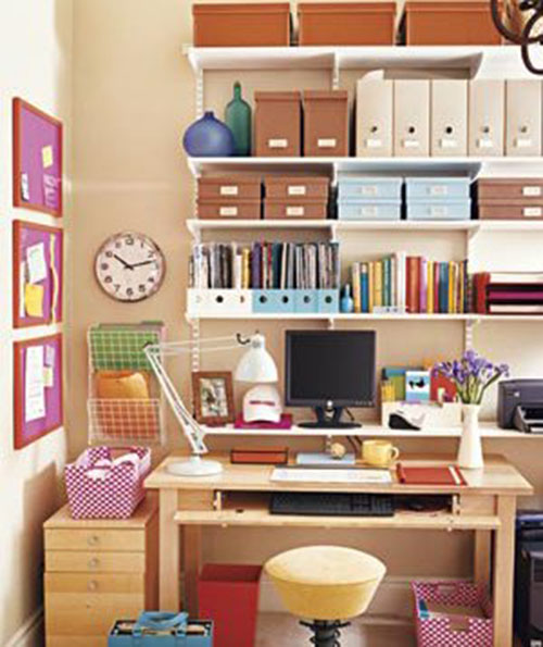 Desk Image Courtesy Of Real Simple. An Organized Home Office ...
