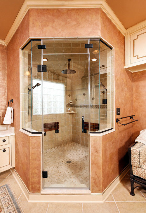 Shower in Luxury | Case Design/Remodeling MD/DC/NoVA