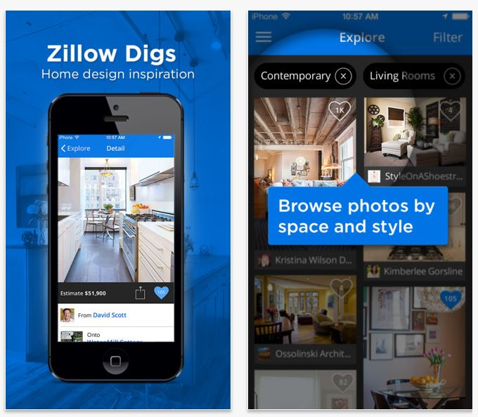 Home remodeling there 39 s an app for that case design for Apps for home remodeling