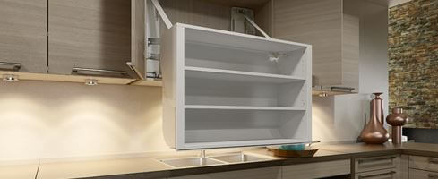 Upper Cabinets: Challenges They Pose, and What To Do Instead