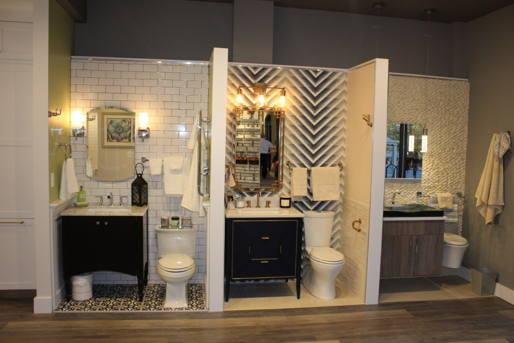Sample bathrooms