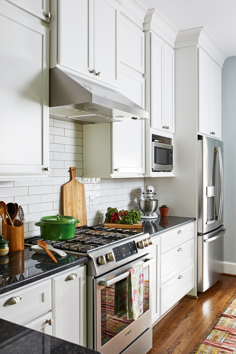 kitchen design ideas with ductless under cabinet range hood with light in stainless steel and shelf built in microwave wall cabinet